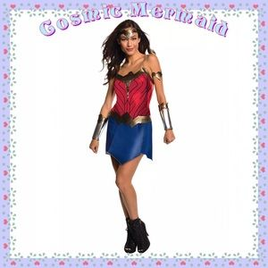 5 Piece Set🆕⭐️DC Comics Wonder Woman Costume⭐️